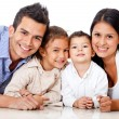 Beautiful family portrait — Stock Photo #9677789
