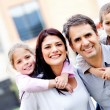 Family smiling — Stock Photo #9677802