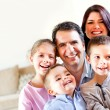 happy family at home — Stock Photo #9677825