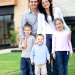 Family house — Stock Photo #9774149