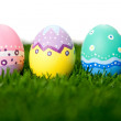 Royalty-Free Stock Photo: Hand painted Easter eggs