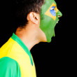 Brazilian man shouting - 