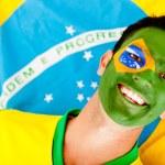 Happy Brazilian man — Stock Photo
