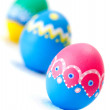 Hand painted Easter eggs — Stockfoto