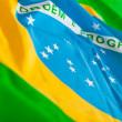 Flag from Brazil — Stockfoto
