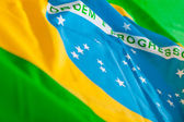 Flag from Brazil — Stock Photo