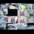Hotel Security Cameras - Foto Stock
