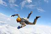 Skydiving photo. — Stockfoto