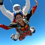Skydiving photo. Tandem. — Stock Photo #9030655