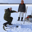 Ice fishing — Stock Photo #9463926