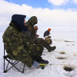 Ice fishing — Foto de stock #9463957