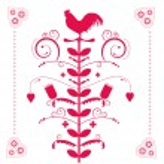 Polish folk decorative ornament — Stock Vector #10541186
