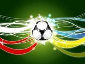 Euro 2012 background green — Stock Photo