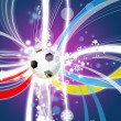 Euro 2012 background poland ukraine — Stock Photo