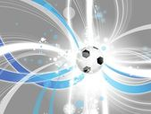 Football modern background — Stock Photo