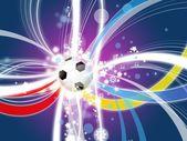 Euro 2012 background poland ukraine — Stock Photo