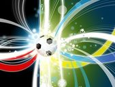 Euro 2012 background — Stock Photo