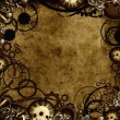 Stock Photo: Steampunk background texture
