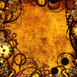 Stock Photo: Steampunk texture