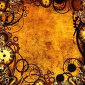 Steampunk texture — Stock Photo