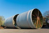 Large tubes — Stock Photo