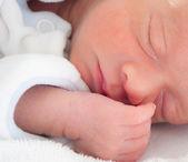 Baby sleeping — Stock Photo