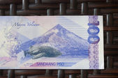 Filippinska sedel — Stockfoto
