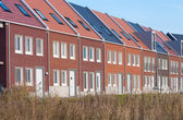 Terraced houses — Stock Photo