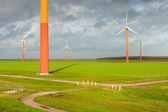 Windmill farm — Stock Photo