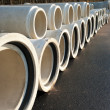 Drainage pipes — Stock Photo #8890292
