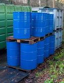 Oil drums — Stock Photo