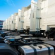White trucks — Stock Photo #9195332