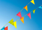 Bunting flags — Stock Photo