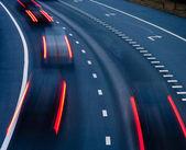 Traffic on highway — Stock Photo