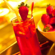 Ice strawberry tea — Stock Photo #10732403
