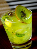 Kiwi mojito close up — Stock Photo