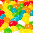 Jelly beans background — Stock Photo