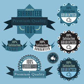 Guaranteed label — Stock Vector