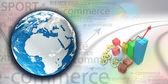 E-commerce poster — Stock Photo