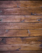 Natural boards as brown wood background — Stock Photo