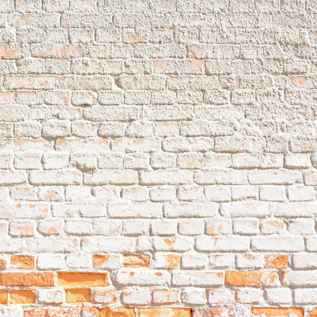 Fondo o textura de la pared de ladrillo blanco foto - Pared ladrillo blanco ...