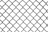Abstract seamless as pattern, wire grill isolated on white background — Stock Photo