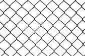 Abstrakta sömlösa som mönster, tråd grill isolerad på vit bakgrund — Stockfoto