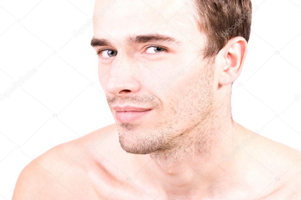 Gesicht Mann Attraktiv Mann-gesicht Junge Gut