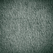 Royalty-Free Stock Photo: Green real textile texture, vignette background to insert text or design