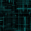 Modern cyberspace, black abstract texture, background for designers — Stock Photo