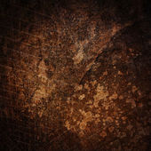 Dark brown grunge paint wall background or texture — Stockfoto