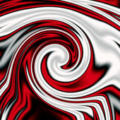 Red-white abstract vortex — Stock Photo