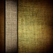 Stock Photo: Grunge dark yellow fabric with brown as vintage background for insert text or design