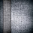 Grunge fabric with bar as gray vintage background for insert text or design — Stock Photo